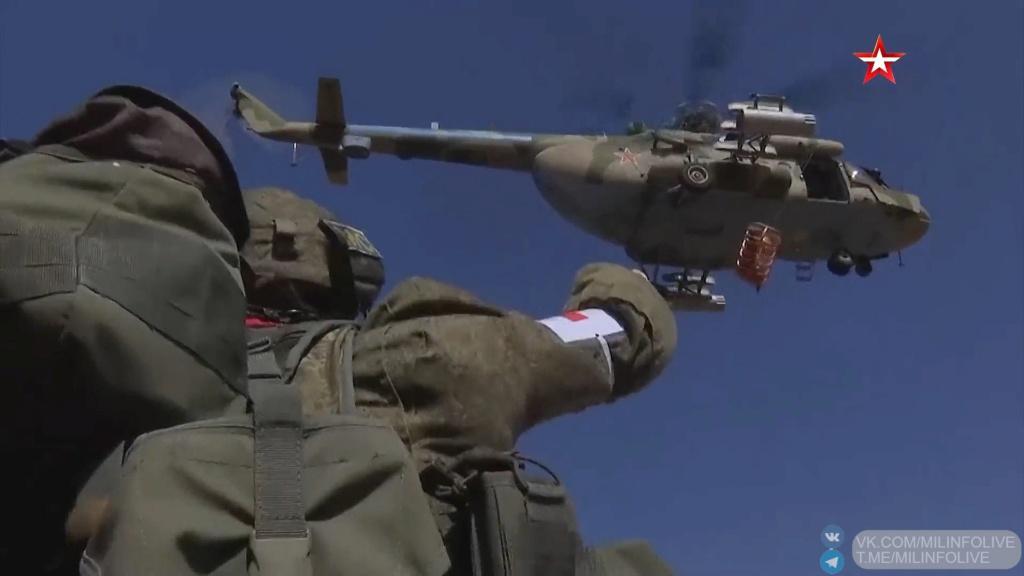 Russian peacekeeping forces in Nagorno-Karabakh O_hacz10
