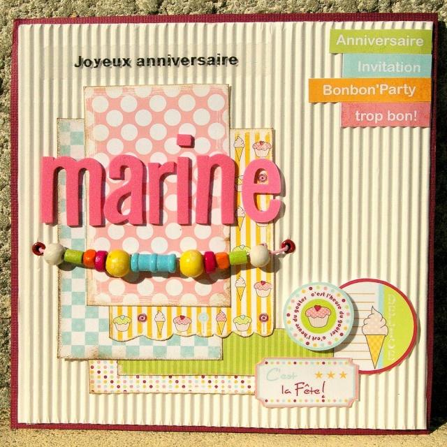 Cartes anniversaires et photophores Marine10