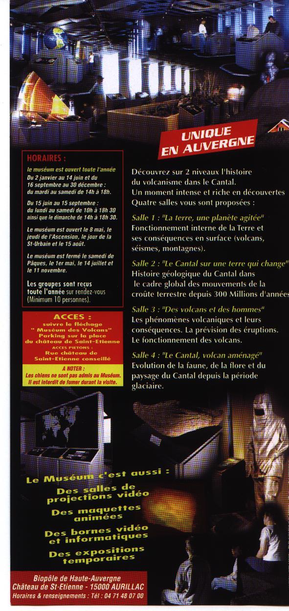 Muséum des volcans à Aurillac Photo_10