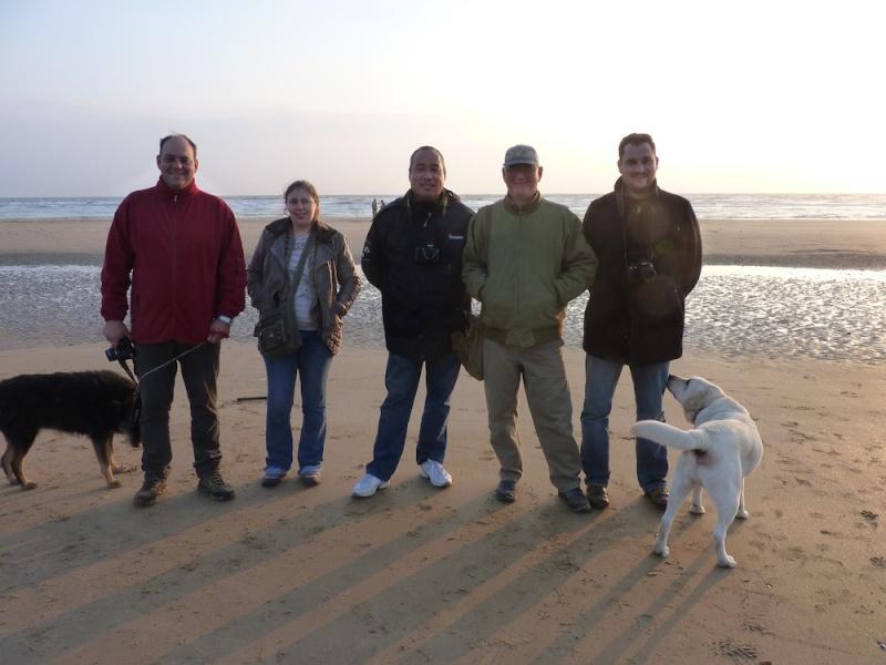 Omaha Beach 6-13 à 6h30 P1200410