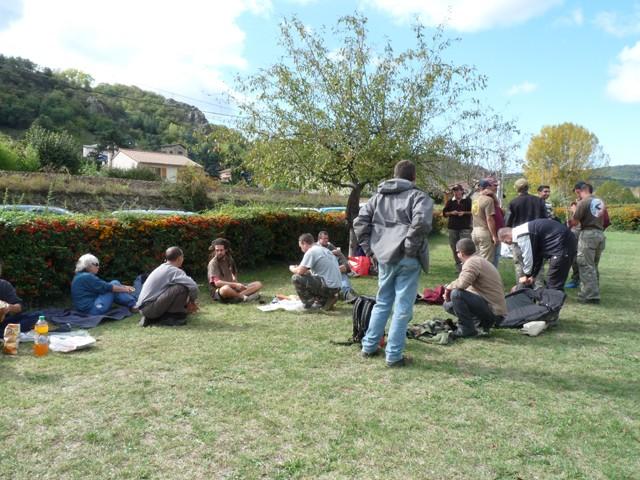 Initiation Pêche le 10 octobre 2009 Repas10