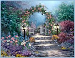 Le jardin aux merveilles
