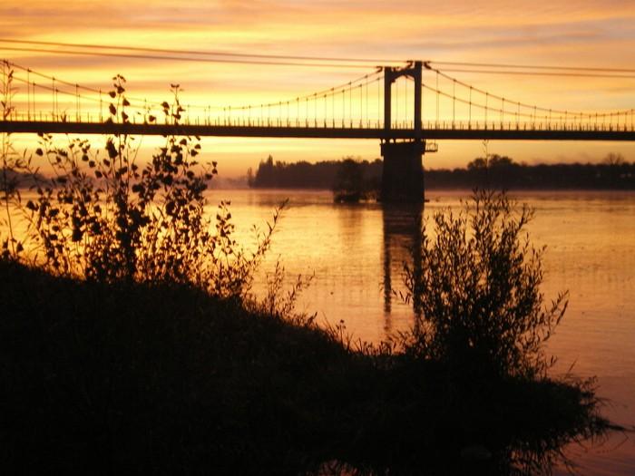 lever de soleil dans le loiret Imgp2111