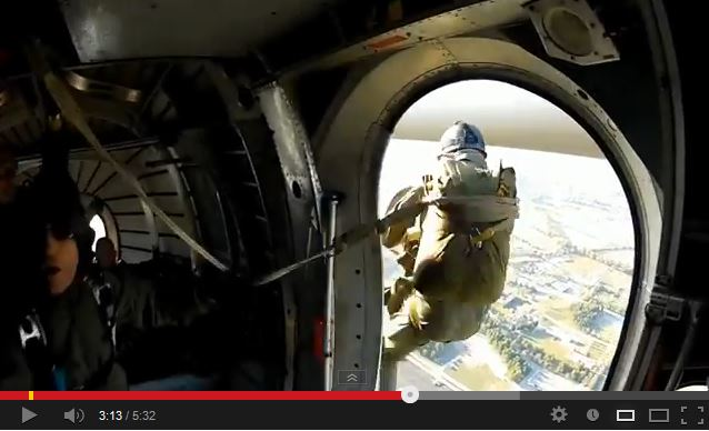 Largage en SOA de l'association AIRBORNE COMMAND Noratl10