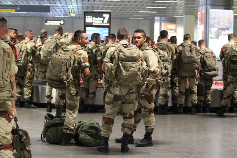 1er RCP Pamiers. Le second contingent est rentré hier du Mali Serval10