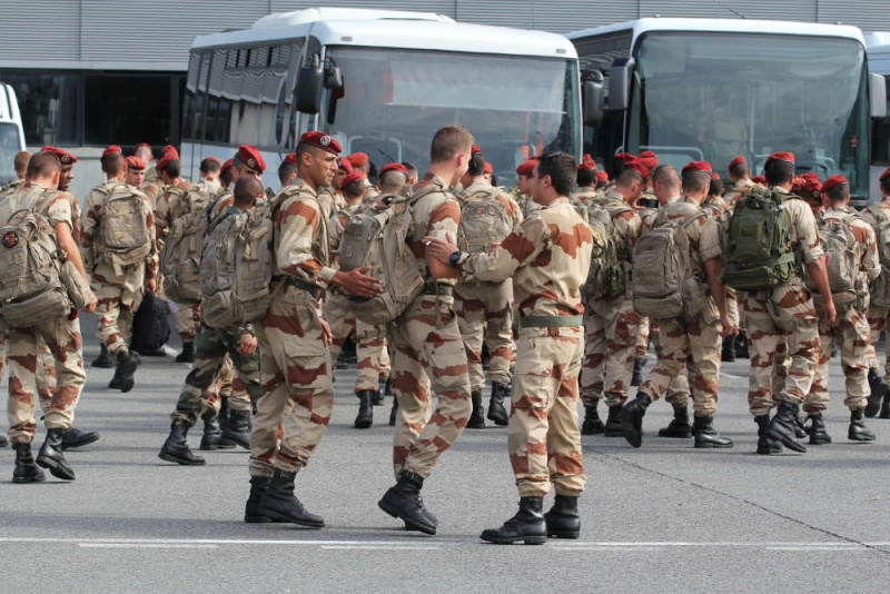 1er RCP Pamiers. Le second contingent est rentré hier du Mali Serval11