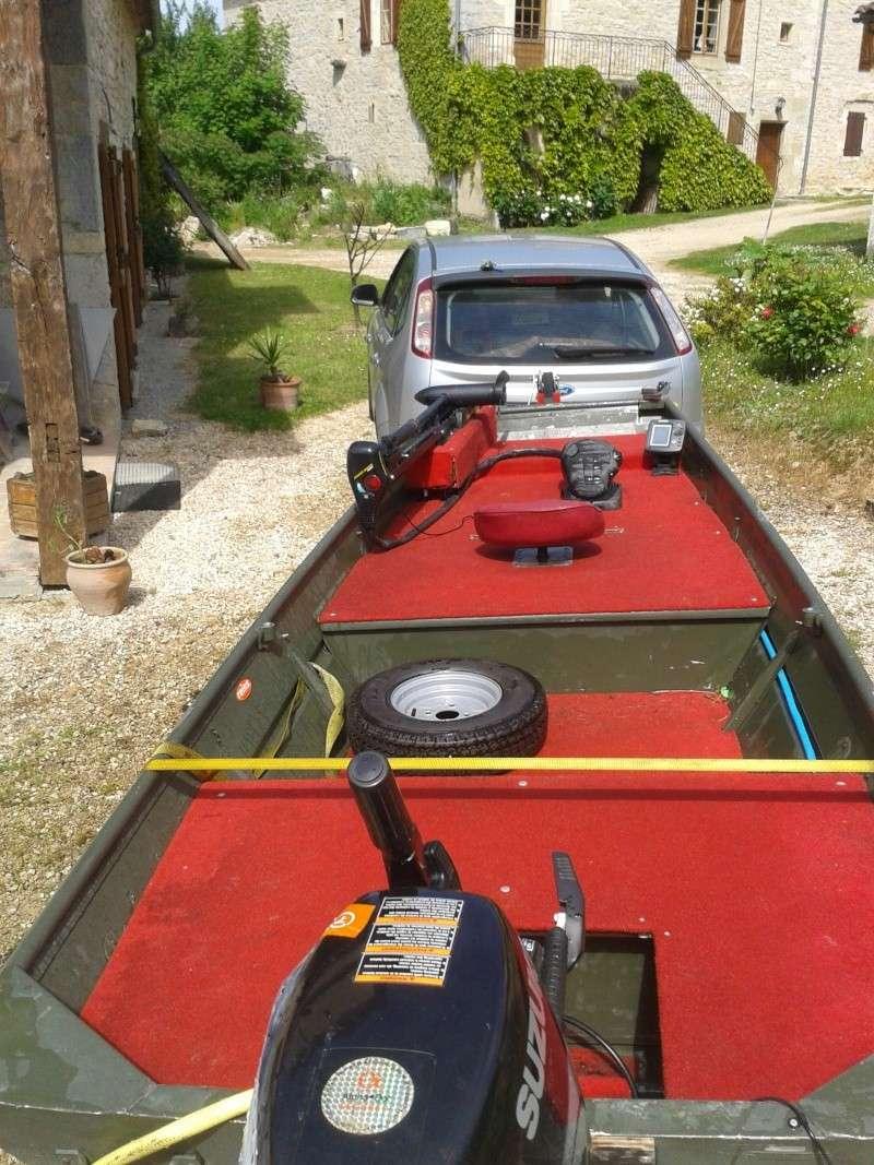 AV barque de pêche, bass boat 2013-012