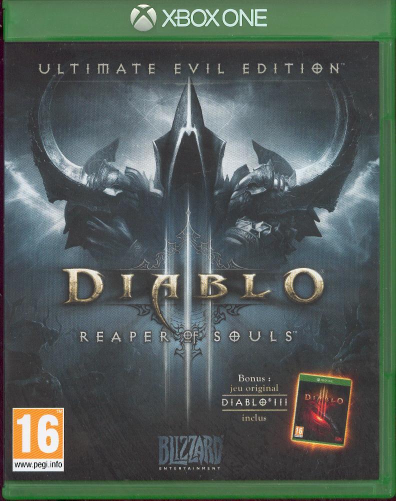 La Xbox one de Korok. Et ouais ! Diablo10