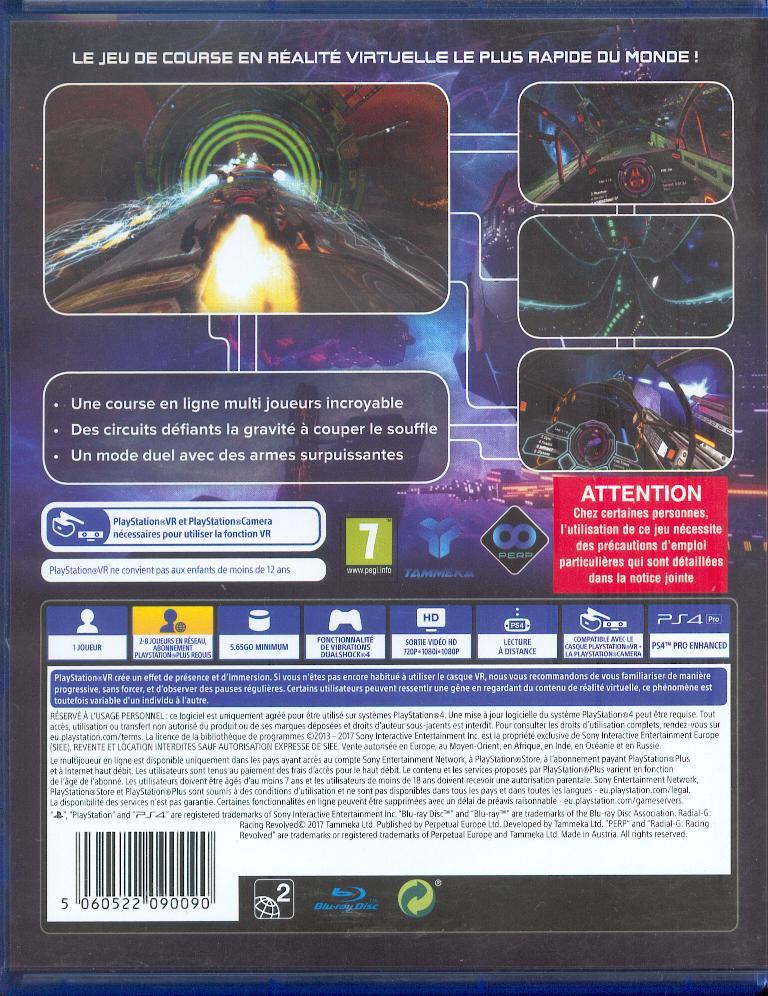 Les jeux PS4 à Korok Radial11