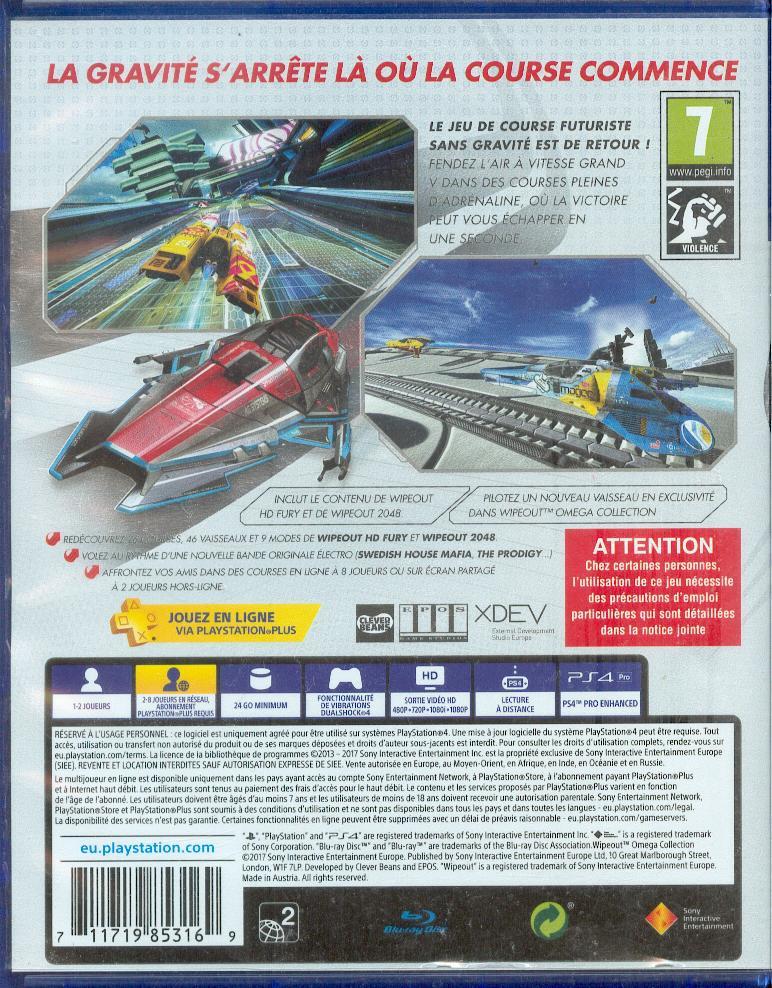 Les jeux PS4 à Korok Wipeou11