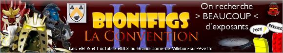 [Expo] BIONIFIGS La Convention 3 comme trois fois plus d'exposants Conven10