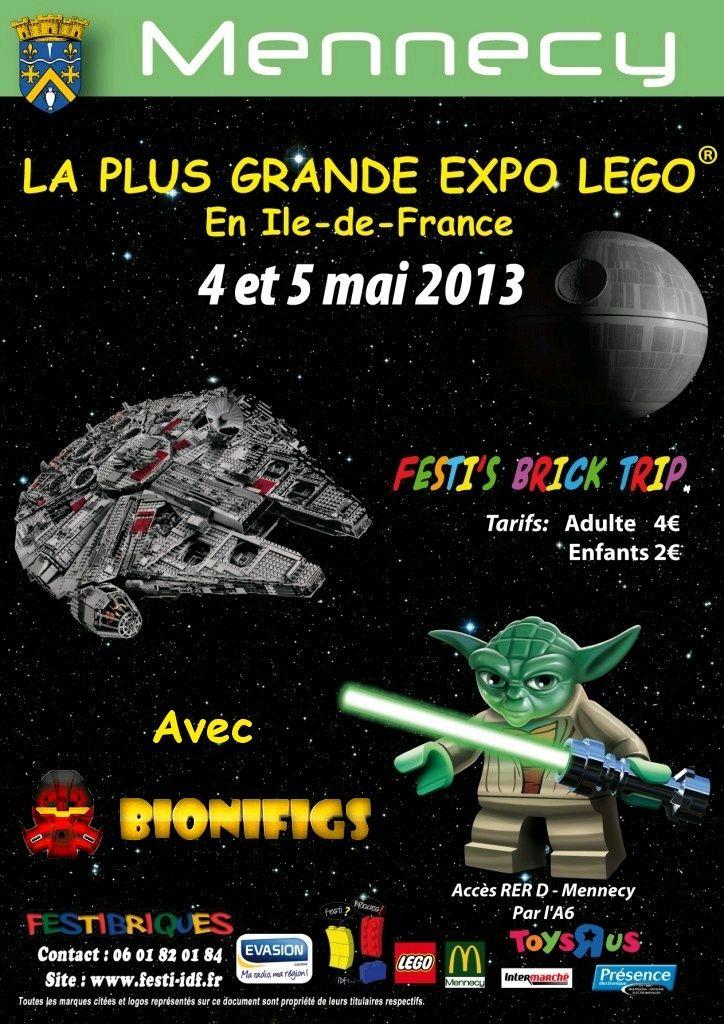 [Expo] Festi'Briques sur Paris avec BIONIFIGS le 4 & 5 mai 2013 - Page 2 Mennec10