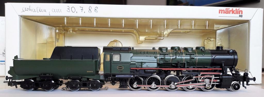 VENDU- Locomotive Märklin 3316 - Type 25.004 SNCB Digitale ESU Mzirkl28