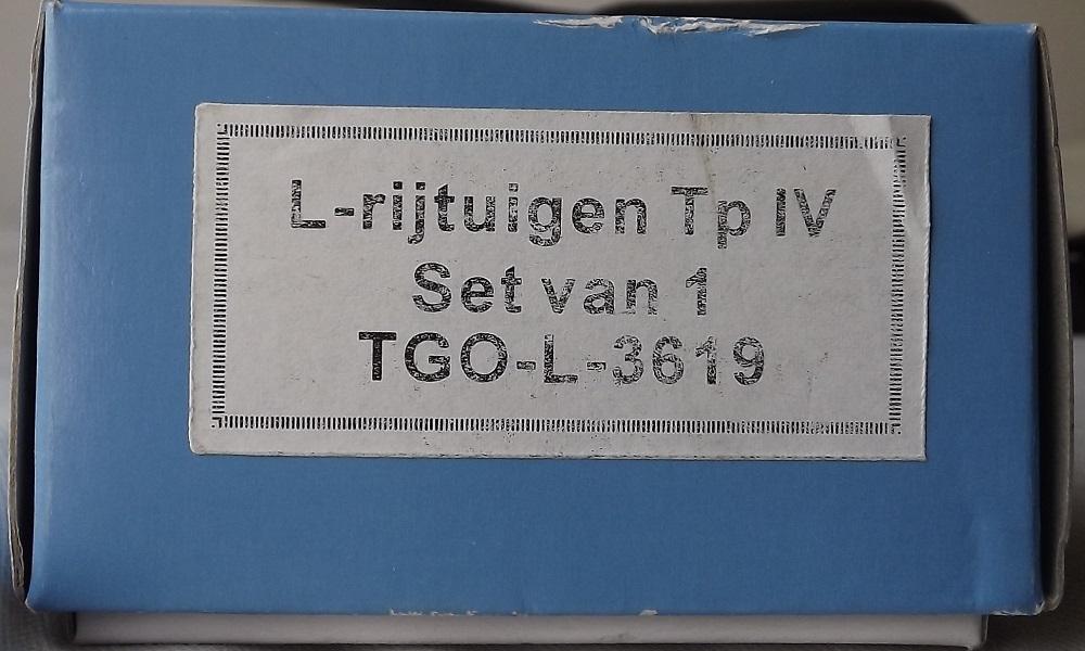 A vendre voiture L mixte 2Cl/Fourgon SNCB - TSO 3619 - époque IV Voitur12
