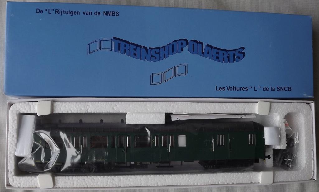 A vendre voiture L mixte 2Cl/Fourgon SNCB - TSO 3619 - époque IV Voitur14