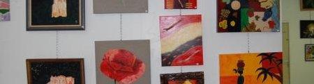 Forum Citoyen de Frontignan La Peyrade, exposition la valse des couleurs 2009