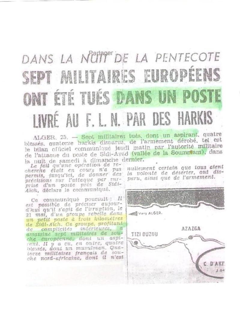 28ème à Sidi Aïch en 1961 28ame_10