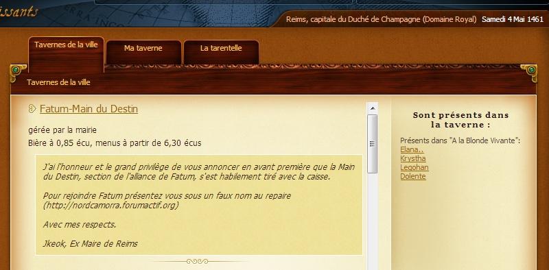 Jkeok -  haute trahison - Reims nuit du 03 au 04 mai 1461 Pannea10