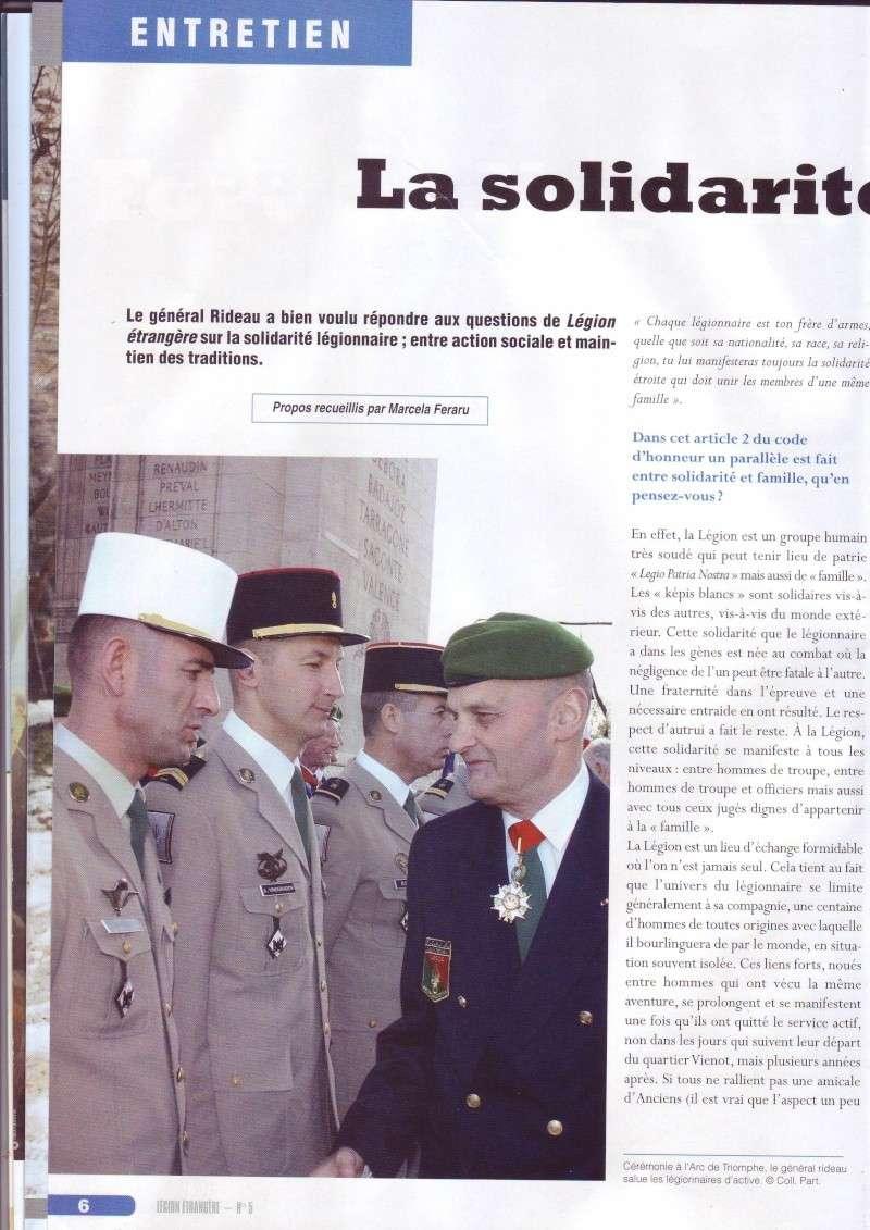 - Général RIDEAU - Solifarité légionnaire Image016