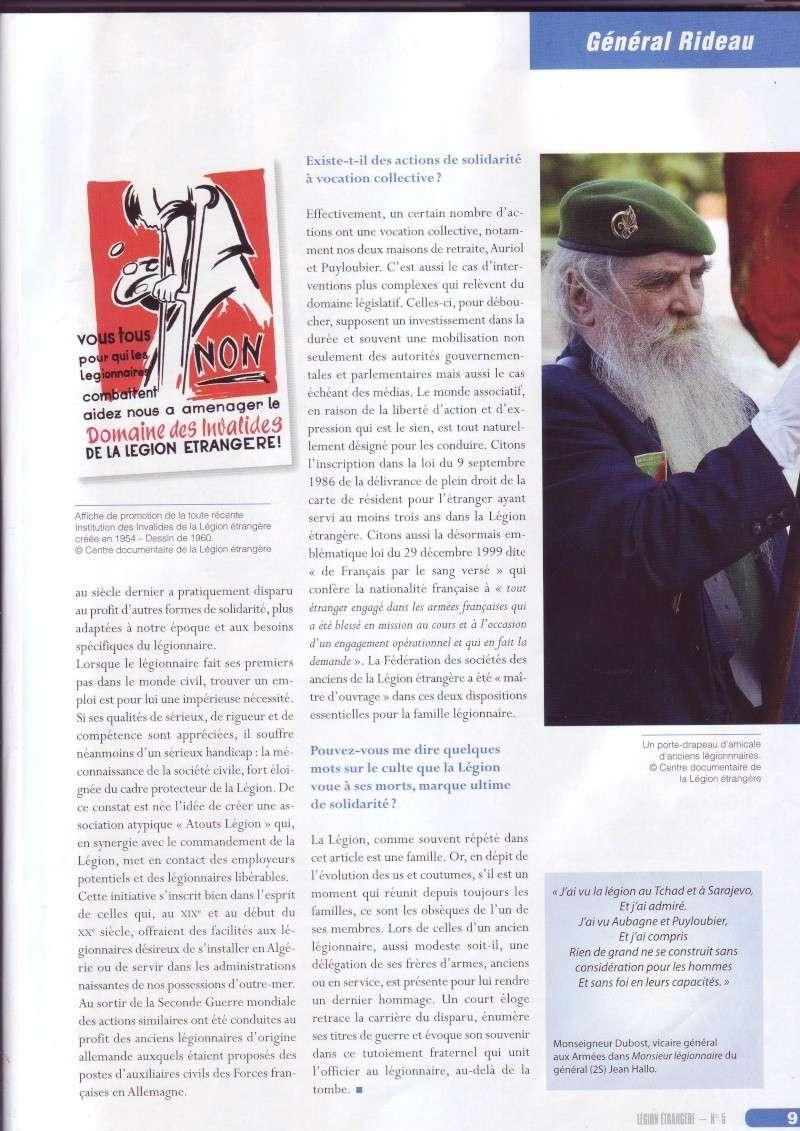 - Général RIDEAU - Solifarité légionnaire Image019
