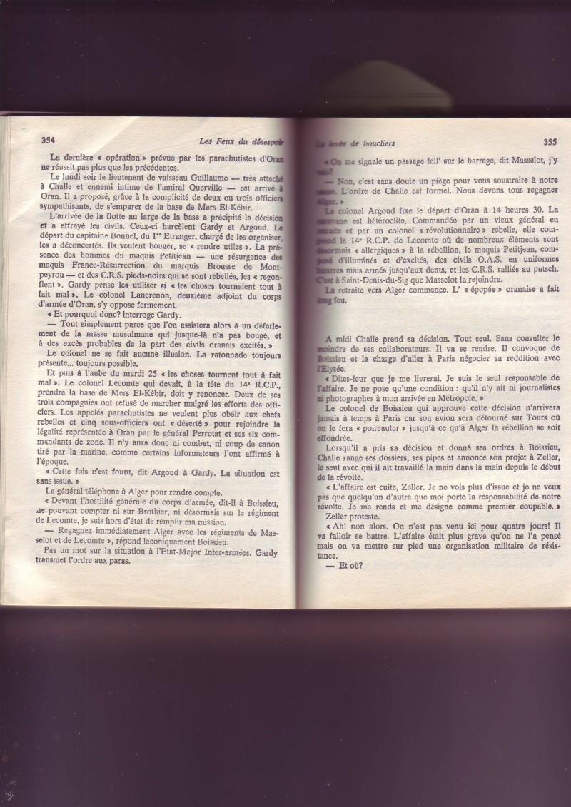 """-Le """"ratage"""" du putch des Généraux Alger 1961, les causes...... - Page 2 Image054"""
