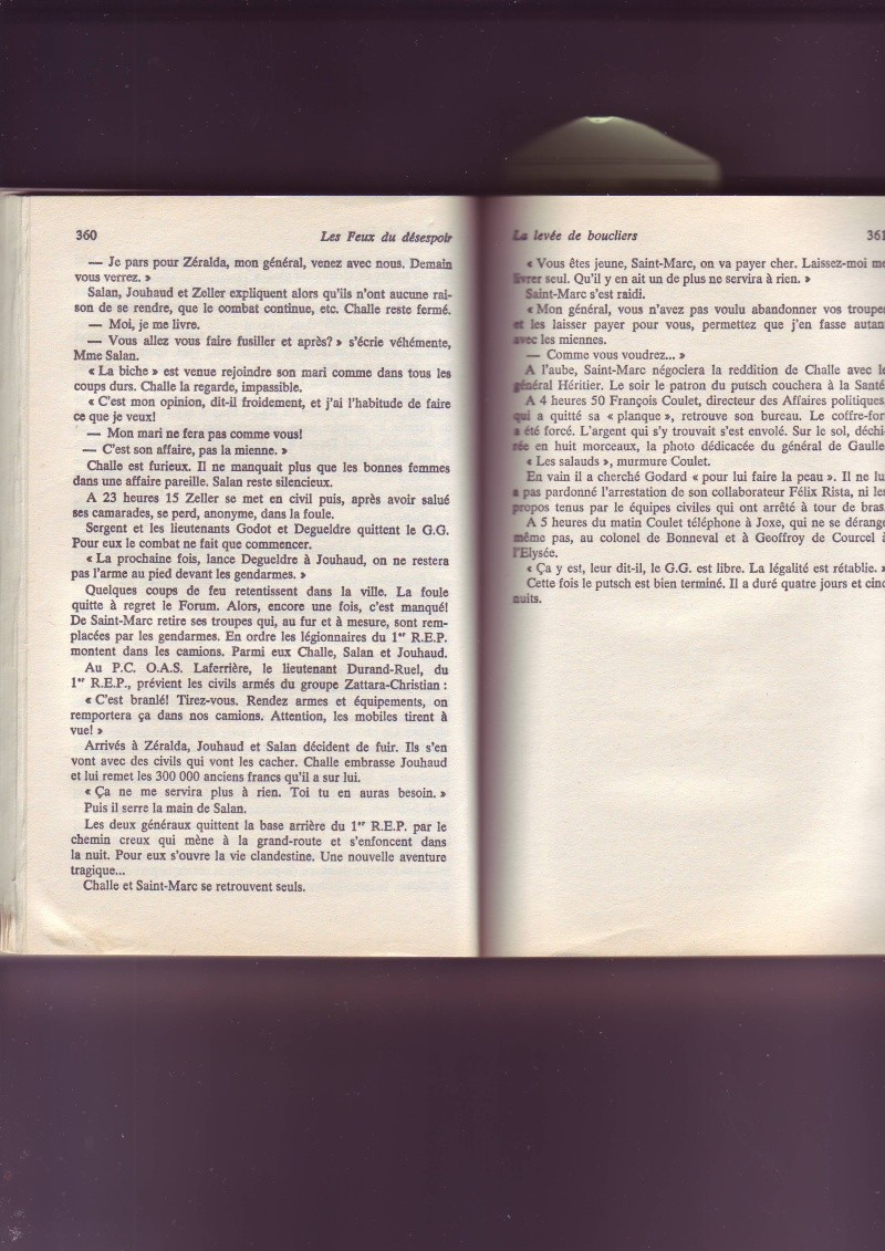 """-Le """"ratage"""" du putch des Généraux Alger 1961, les causes...... - Page 2 Image057"""