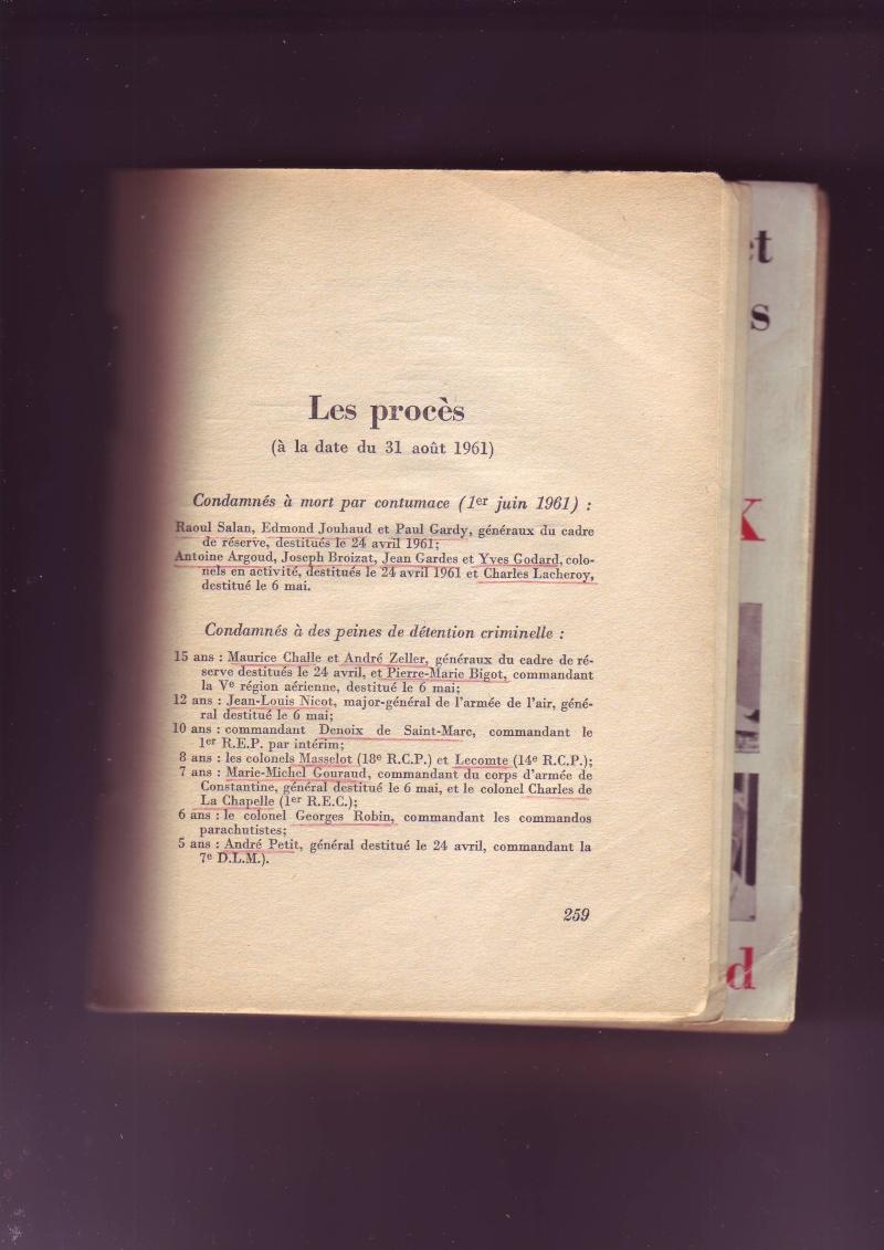 """-Le """"ratage"""" du putch des Généraux Alger 1961, les causes...... - Page 2 Image058"""