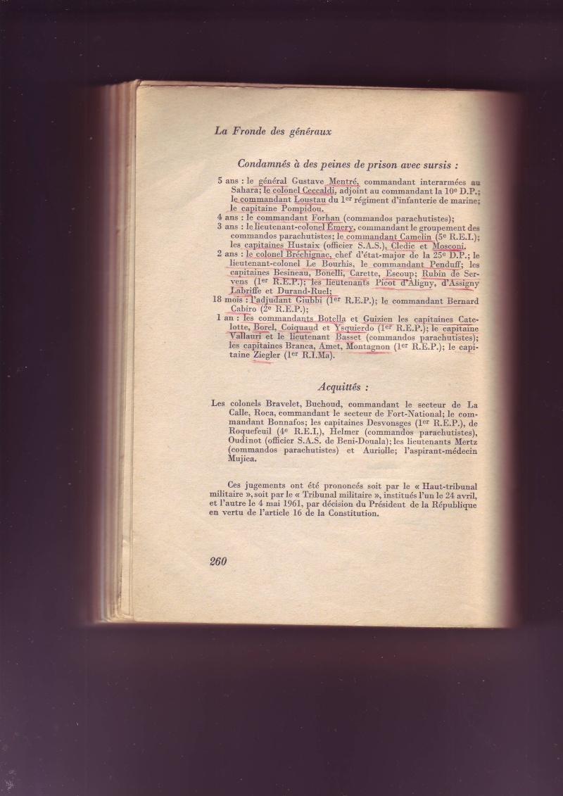 """-Le """"ratage"""" du putch des Généraux Alger 1961, les causes...... - Page 2 Image059"""