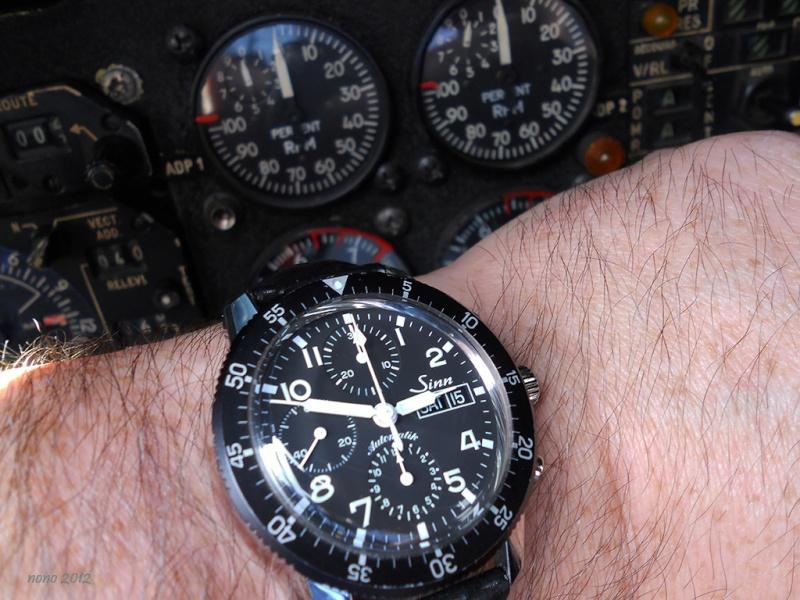 je voudrais une montre de pilote ?  Sinn3710