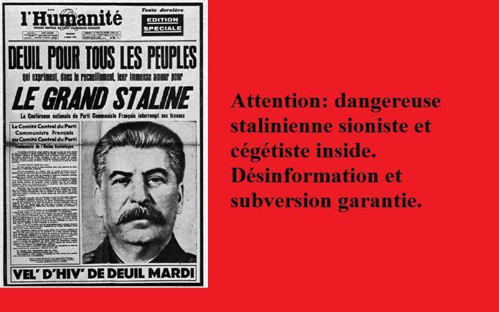 Sarkozy creuse le déficit de l'état - Page 3 Stalin10