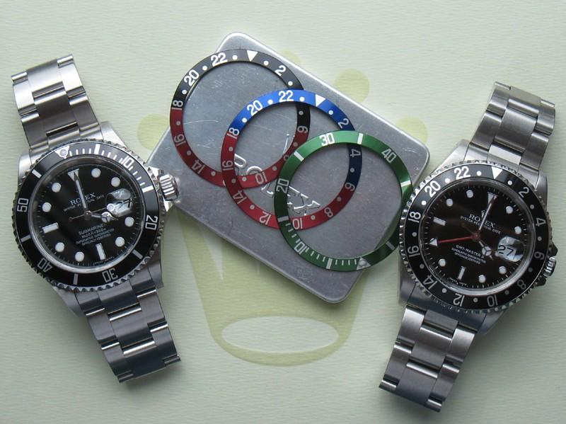 Porter des montres de modèles similaires Sub_gm13