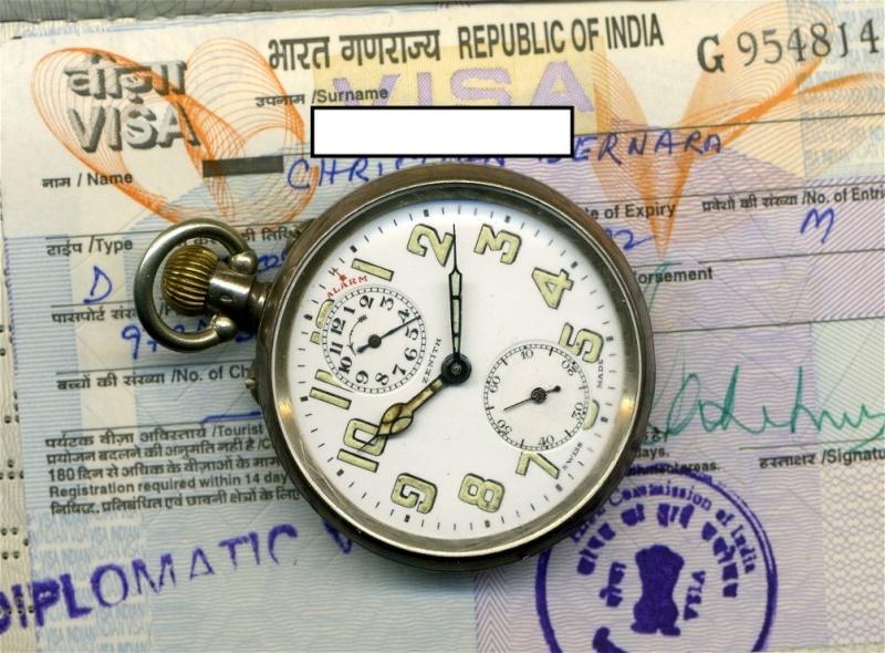 La montre ZENITH de Gandhi vendue aux enchères par Antiquorum Zenith11