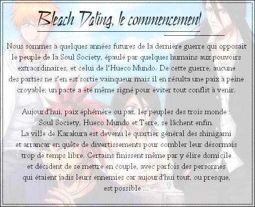 Bleach Dating ! Princi10