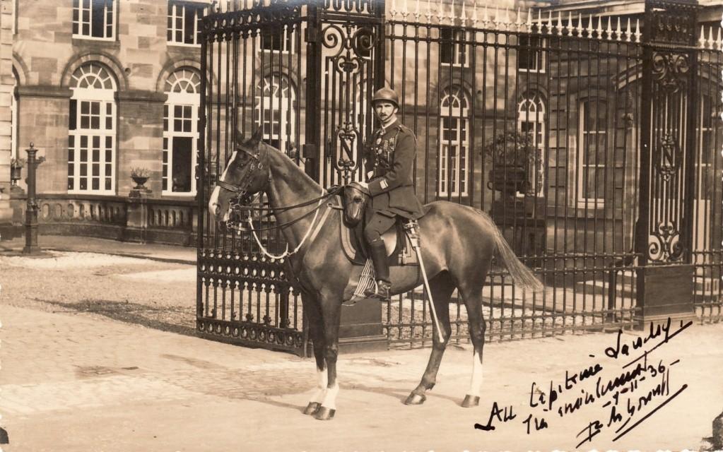 Chef de Corps,10e.BCP.,1936. Sans_403
