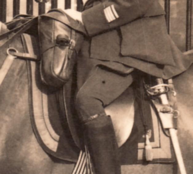 Chef de Corps,10e.BCP.,1936. Sans_405