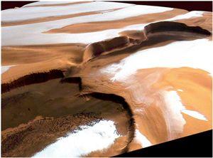 De la glace à 99% pure sur Mars 51913810