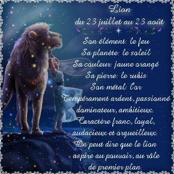 Ce que dit votre horoscope Lion10