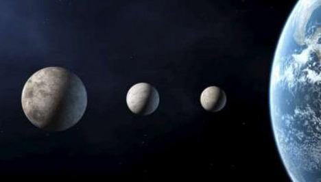 Pas de collision entre Mercure, Mars, Vénus et la Terre avant... Media157