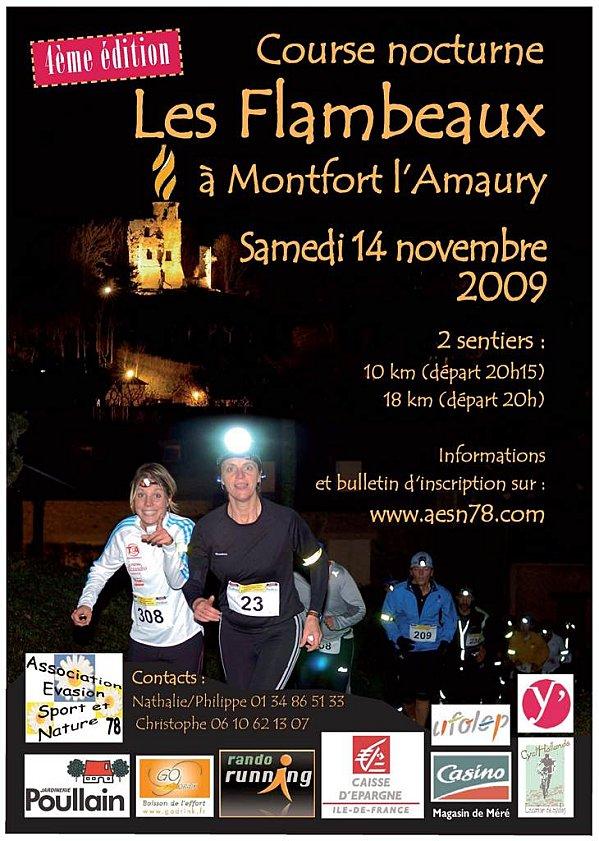 Course nocturne : LES FLAMBEAUX Samedi 14 Novembre 2009 Affich10