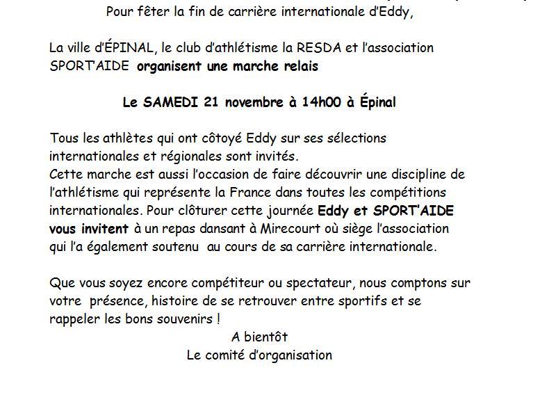 """LE 21 NOVEMBRE LE JUBILE D""""EDDY Roze_210"""