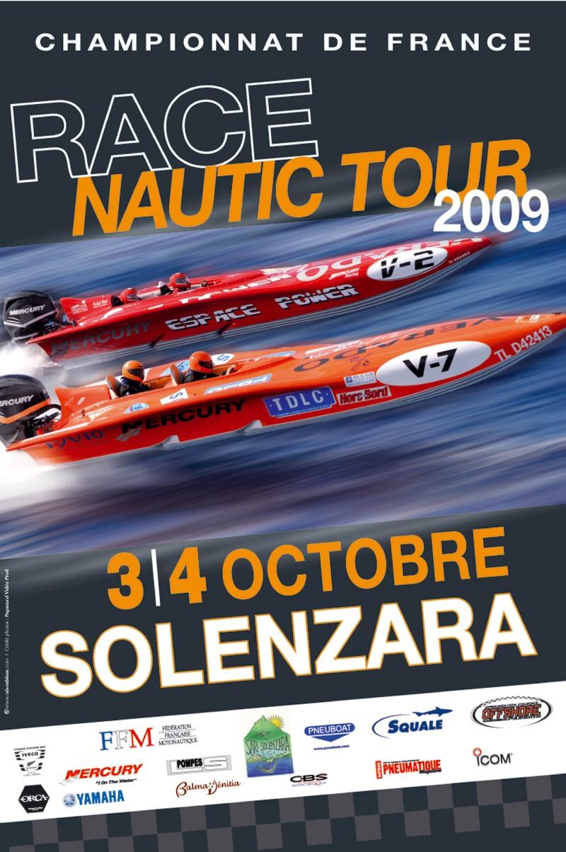 Offshore/Grand Prix de SOLENZARA 3 & 4 Octobre 2009 Affich10