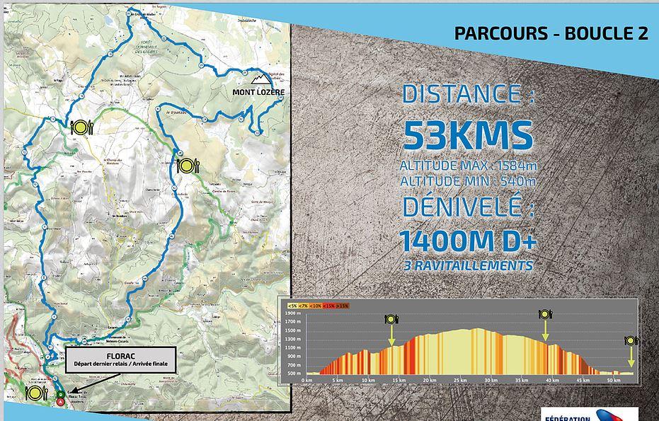 100 miles VTT Lozère : samedi 22 juin Boucle12