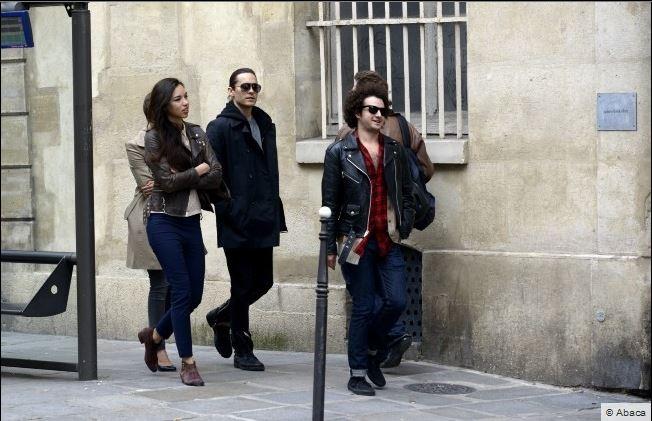Jared Leto sortant de l'hotel Mandarin  00211