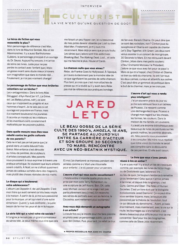Jared Leto @ Stylist.fr  00212
