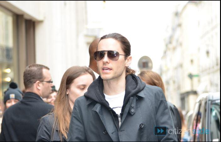 Jared Leto sortant de l'hotel Mandarin  Captur10