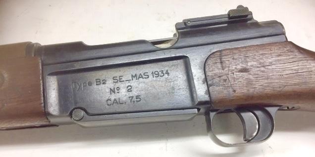 fusil SE- MAS 34 B2 histoire incroyable! Fulls108