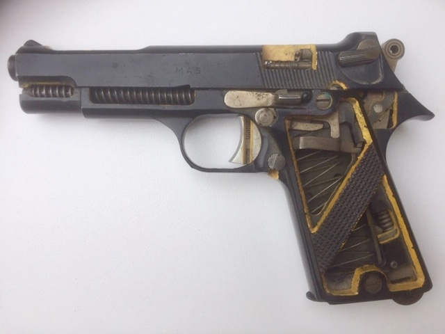 """Pistolet réglementaire MAS Modèle 1935 """"S"""" - Page 2 Fullsi93"""