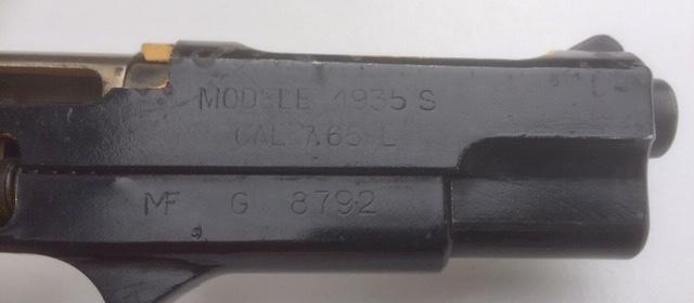 """Pistolet réglementaire MAS Modèle 1935 """"S"""" - Page 2 Fullsi95"""