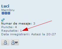 "Sistem de reputatie + butonul ""Mersi"" Reputa17"