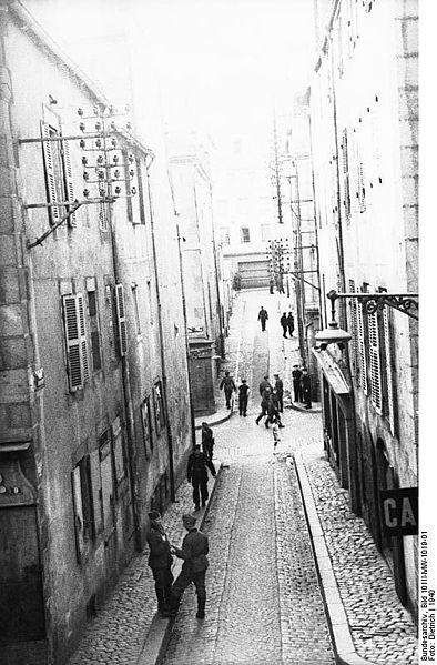 Brest, une synagogue transformée en maison close pour la Wehrmacht Frankr11